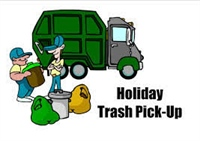 Thanksgiving Day Trash Schedule